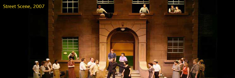 Photo from Opera NUOVA's production of Street Scene, 2007